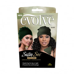 Firstline® Evolve Satin Soc Olive Large