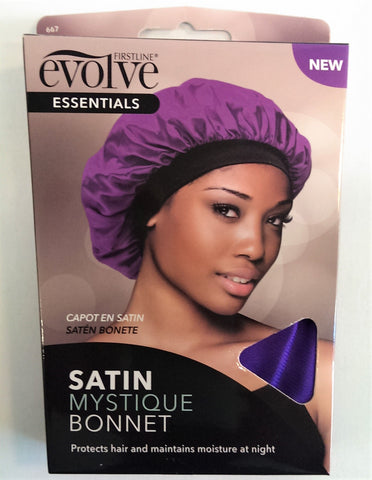 Evolve Satin Mystique Bonnet - Purple