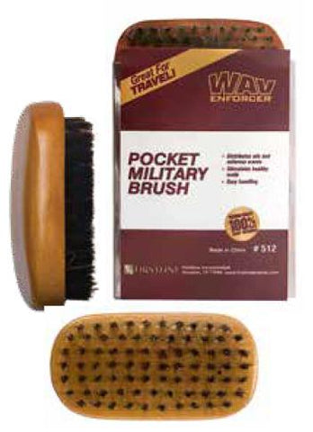 Firstline WavEnforcer Pocket-Size Military Brush