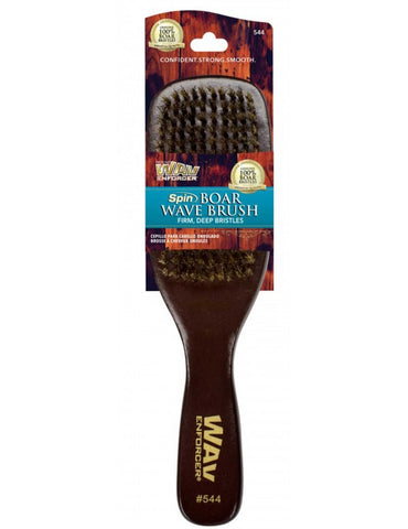 Firstline WavEnforcer Spin Wave Brush 544 Dark Wood