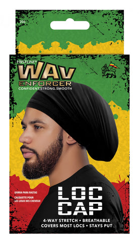 WavEnforcer Loc Cap Black