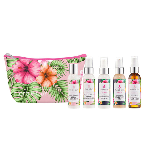 Flora & Curl Travel Essentials Kit