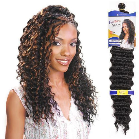 FreeTress - Deep Twist Braid 22""