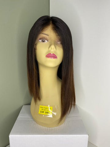 Indian Virgin Human Hair Front Lace Wig N138