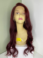 Indian Virgin Human Hair Front Lace Wig N140