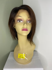 Indian Virgin Human Hair Front Lace Wig N88-2