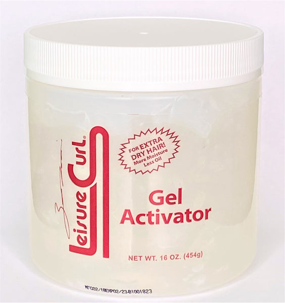 Leisure Curl Gel Activator (X-Tra Dry) 16oz.