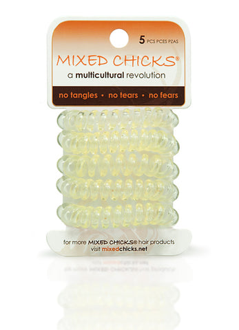 Mixed Chicks 5-pack Spring Bands-Yellow