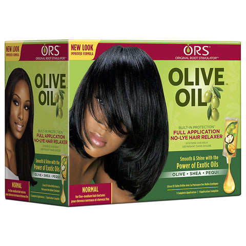 Organic Root Stimulator No-Lye Relaxer Normal