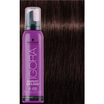 Igora Expert Mousse - 4-68 Medium Brown