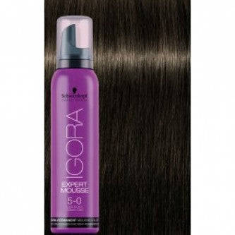 Igora Expert Mousse - 5.0 Light Brown