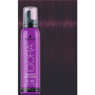 Igora Expert Mousse - 5-99 Light Brown Violet