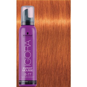 Igora Expert Mousse - 8-77 Light Blonde Copper