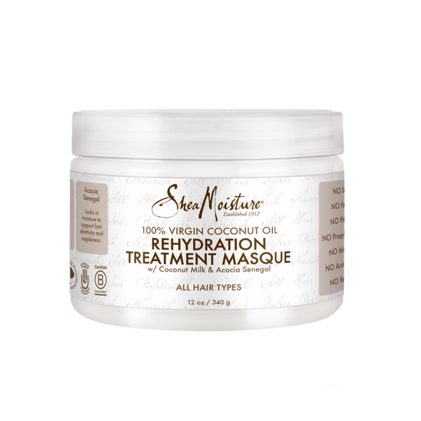 SheaMoisture 100% Virgin Coconut Oil Rehydration Treatment Masque