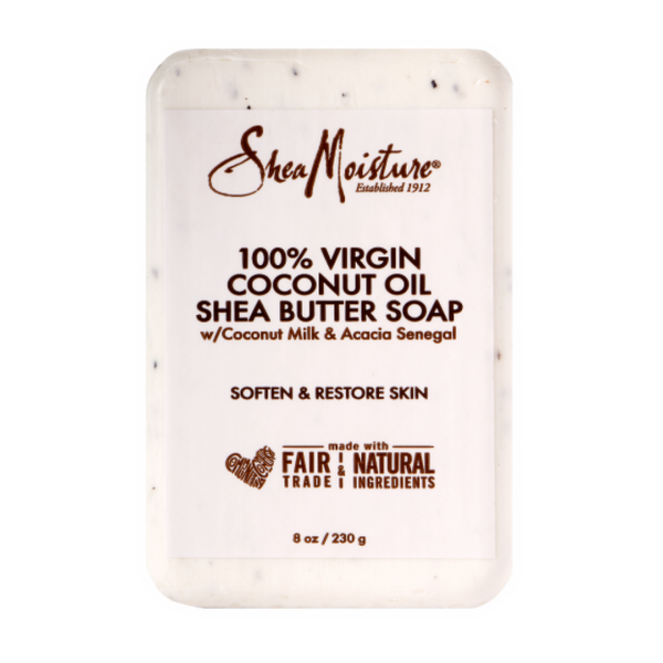 SheaMoisture 100% VIRGIN COCONUT OIL DAILY HYDRATION BAR SOAP