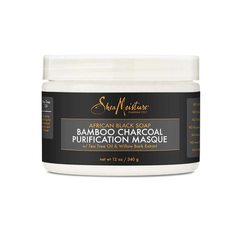 SheaMoisture African Black Soap Bamboo Charcoal Purification Masque