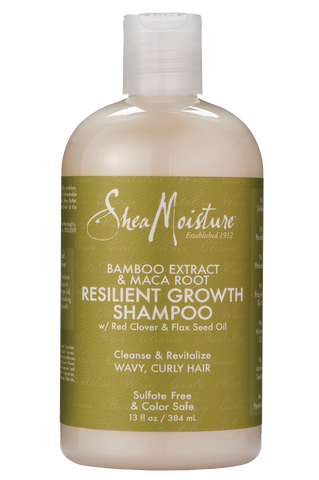 SheaMoisture Bamboo Extract & Maca Root Resilient Length Shampoo