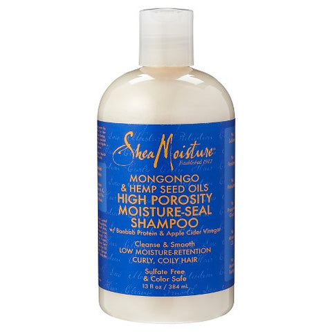 SheaMoisture Mongongo & Hemp Seed Oils High Porosity Moisture-Seal Shampoo