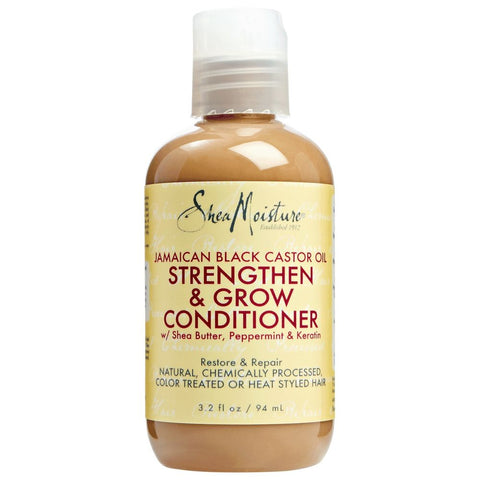 SheaMoisture Jamaican Black Castor Oil Reparative Leave-In Conditioner Travel Size