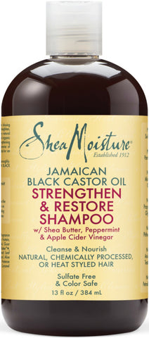 SheaMoisture Jamaican Black Castor Oil Replenishing Shampoo