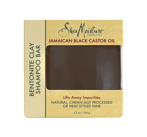SheaMoisture Jamaican Black Castor Oil Bentonite Clay Shampoo Bar