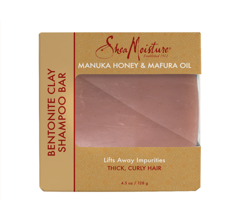 SheaMoisture Manuka Honey & Mafura Oil Bentonite Clay Shampoo Bar