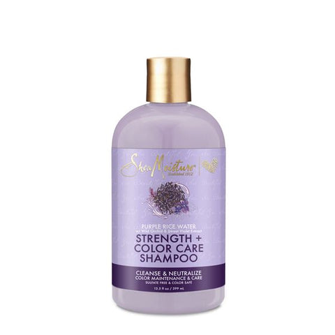 SheaMoisture Purple Rice Water Strength & Color Care Shampoo