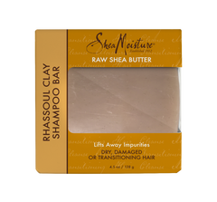 SheaMoisture Raw Shea Butter Rhassoul Clay Shampoo Bar