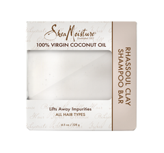 SheaMoisture 100% Virgin Coconut Oil Rhassoul Clay Shampoo Bar