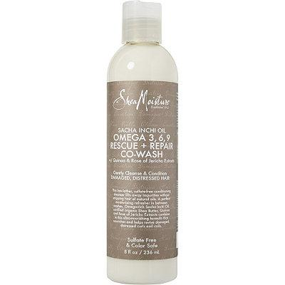 SheaMoisture Sacha Inchi Oil Omega-3-6-9 Rescue + Repair Co-wash