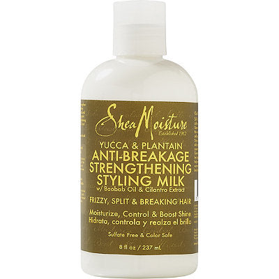 SheaMoisture Yucca & Plantain Anti breakage Strengthening Styling Milk