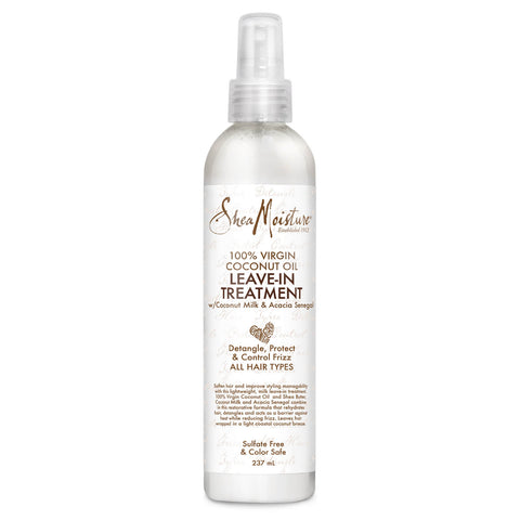 SheaMoisture 100% Virgin Coconut Oil Leave in Treatment
