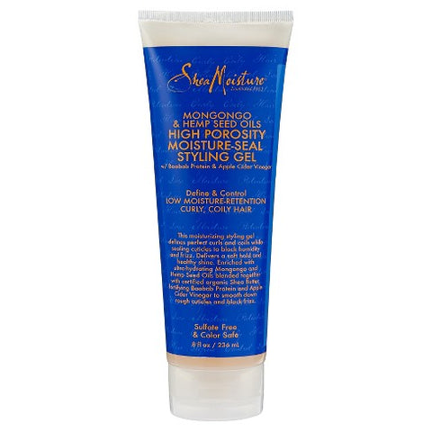 SheaMoisture Mongongo & Hemp Seed Oils High Porosity Moisture-Seal Styling Gel