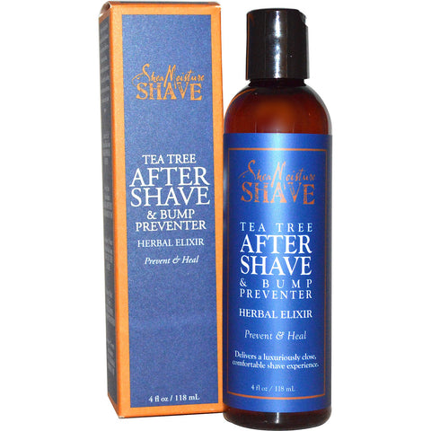 SheaMoisture Shave Herbal Bump Preventer Aftershave Elixir - Tea Tree