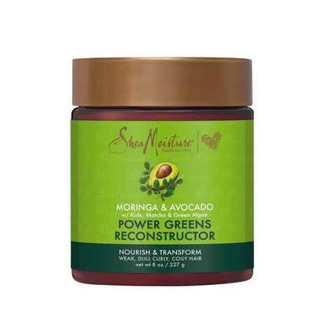 SHEAMOISTURE MORINGA & AVOCADO POWER GREENS RECONSTRUCTOR