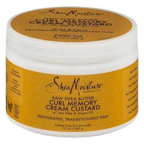 SheaMoisture Raw Shea Butter CURL MEMORY CREAM CUSTARD