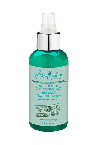 SheaMoisture Zanzibar Marine Complex Age-Defy & Color Protect Sea Salt Texture Spray