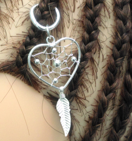 Silver Jewelry Dreamcatcher