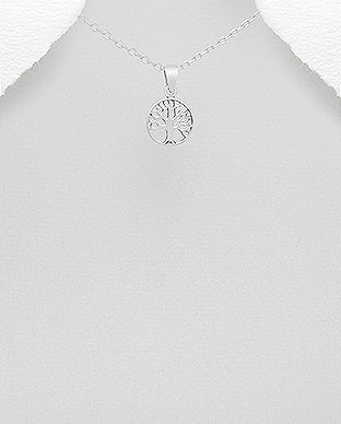 Silver Jewelry Tree of Life small