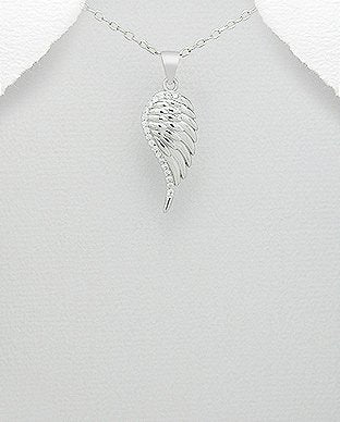Silver Jewelry Angel Wings