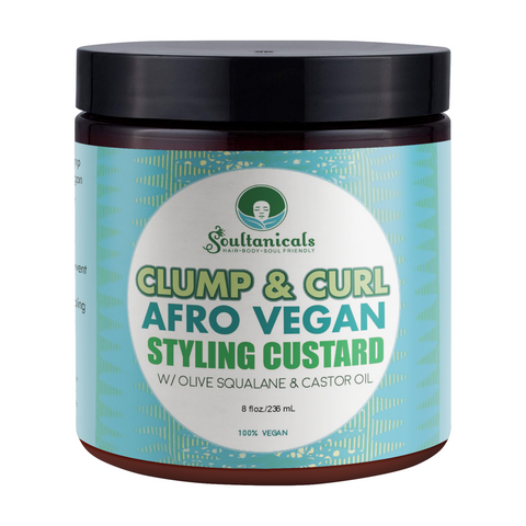 Soultanicals Clump & Curl, Afro Vegan Styling Custard