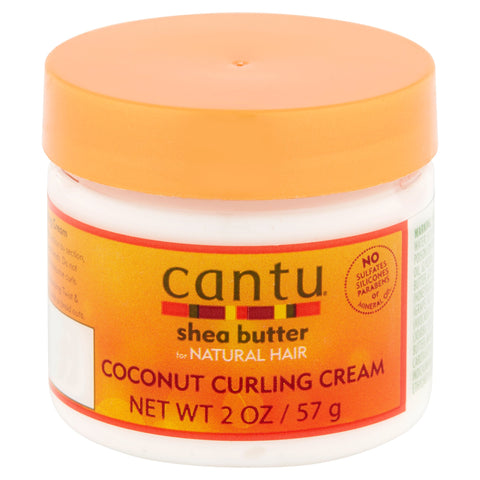 Cantu Shea Butter Natural Hair Coconut Curling Cream 2Oz