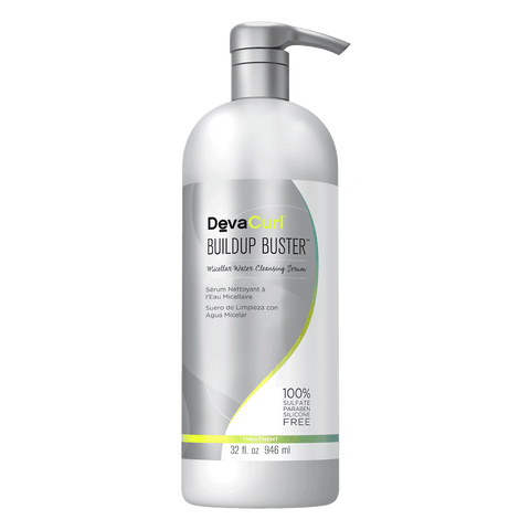 DevaCurl Buildup Buster Miceller Water Cleansing Serum 32Oz