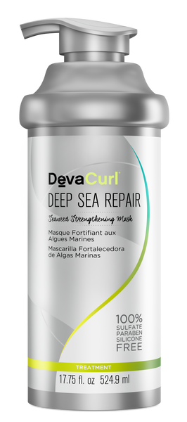 DevaCurl Deep Sea Repair Seaweed Strengthening Mask 17.75Oz.