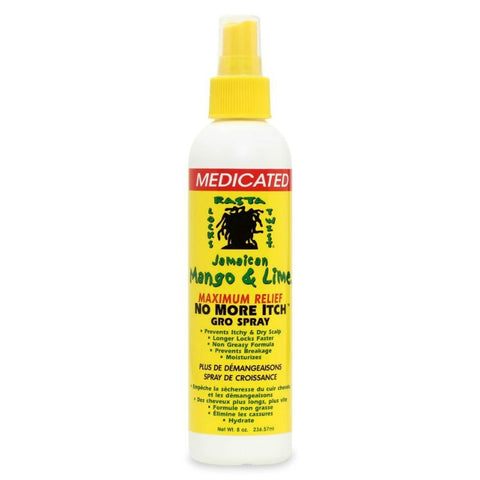 Jamaican Mango & Lime No More Itch Gro Spray maximum relief