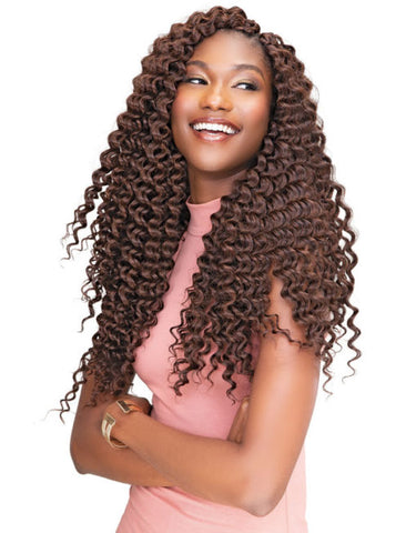 Janet Collection 2X PERUVIAN DOMINICAN CURL 18″