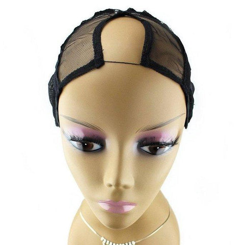 QFITT U-PART WIG CAP - CENTER PARTING