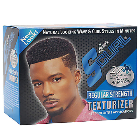 S-Curl Hair Texturizer Kit [Regular Strength]