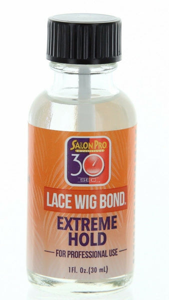 Salon Pro 30 Sec Lace Wig Bond Extreme Hold 1oz