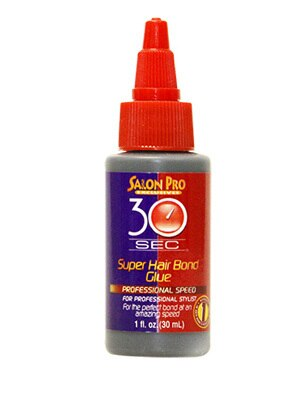 Salon Pro 30 Seconds Super Hair Bond Glue 1oz